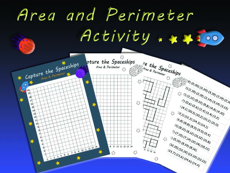 Area, Perimeter and Coordinates Fun Activity