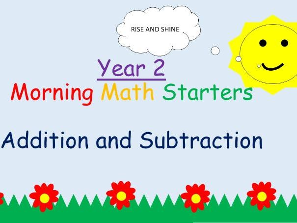 Year 2: Morning Starters - Addition and Subtraction