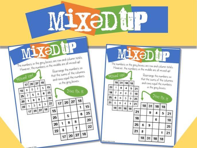 Math Mix-UPs