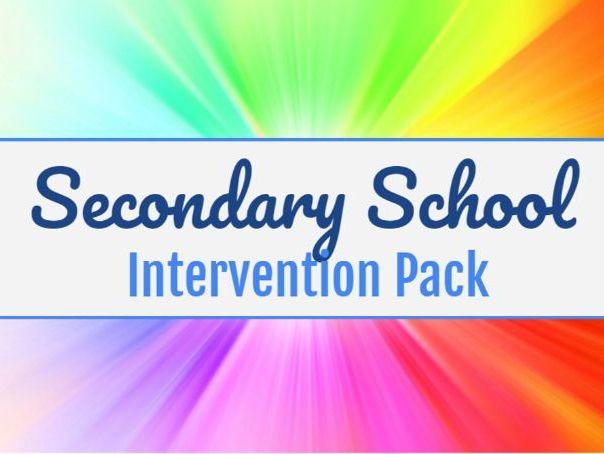 Intervention Activity Pack