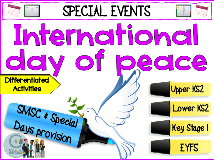 International Day of Peace - september