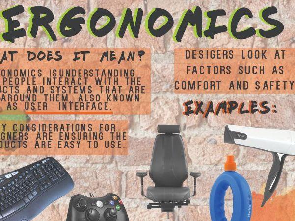 Ergonomics and Anthropometrics