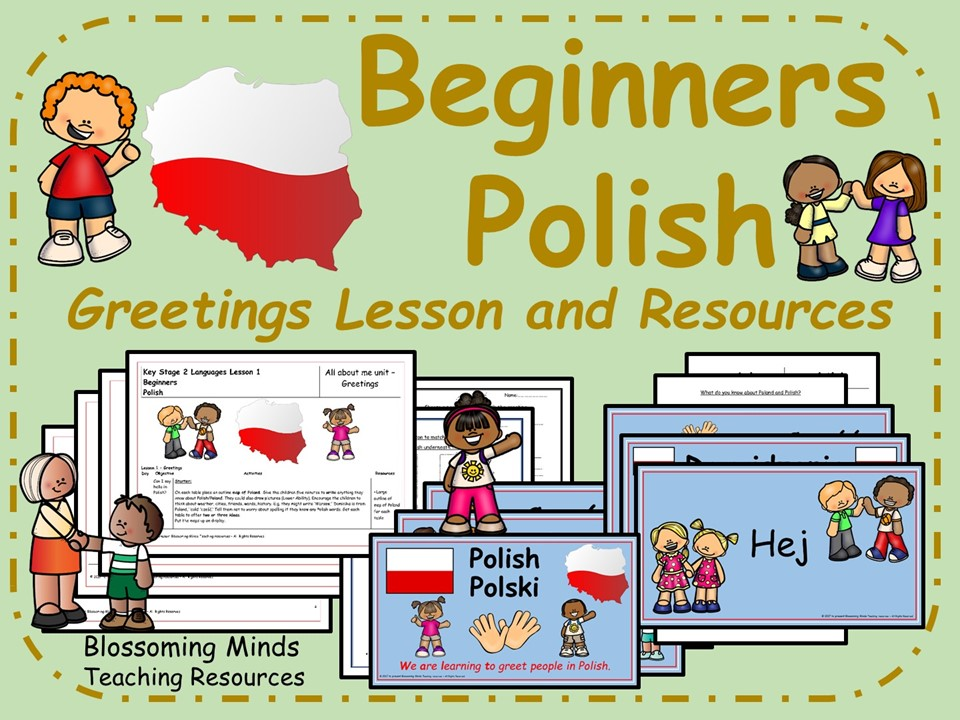 Polish lesson and resources - Greetings