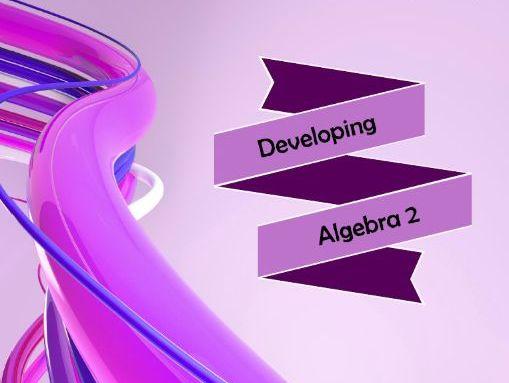 Developing Algebra 2