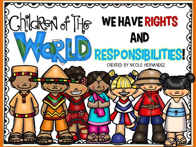 Rights and Responsibilities of a Child Posters and Notebook Size Prints