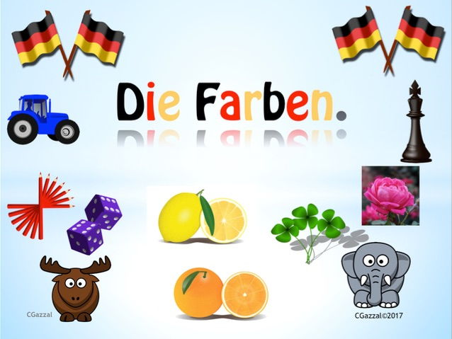 German Colours - Die Farben.