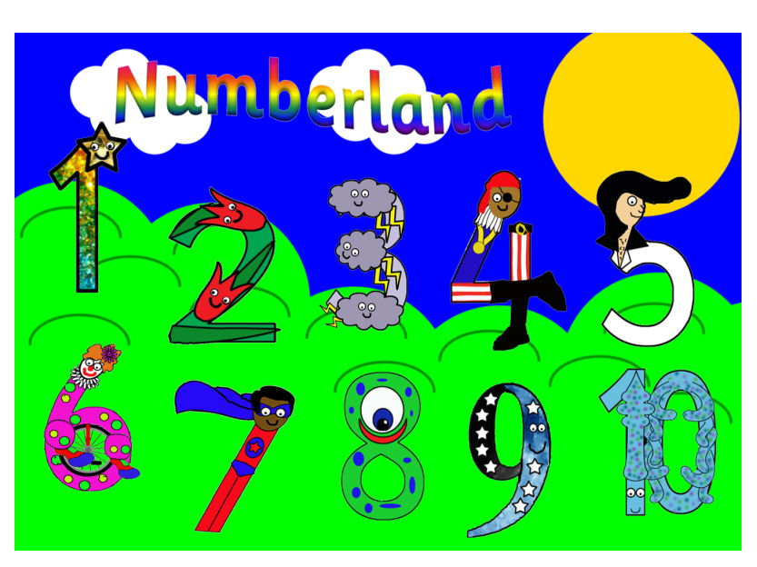 Numberland Song