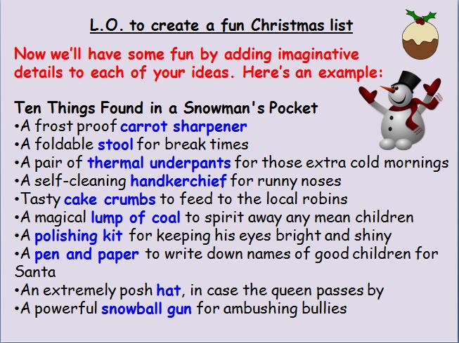 Christmas Literacy Fun
