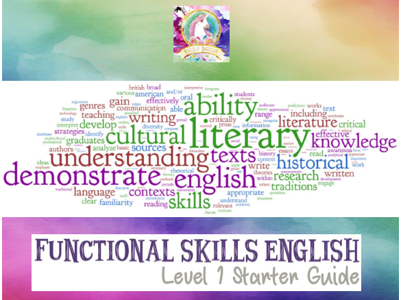 Functional Skills English - Full Level 1 Study Guide
