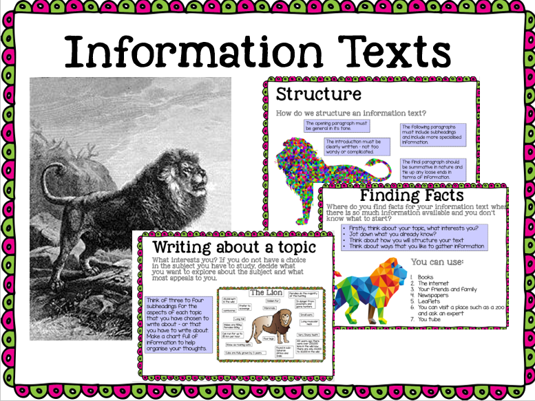 Information texts
