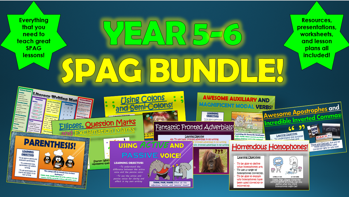 Year 5-6 SPAG Bundle!