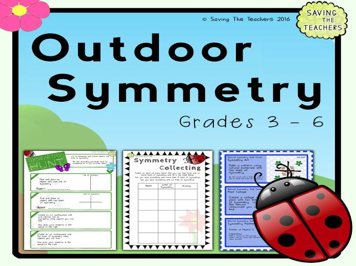 Outdoor Symmetry Activities