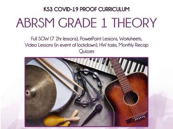 COVID-19 Proof - KS3 ABRSM Grade 1 Theory SOW