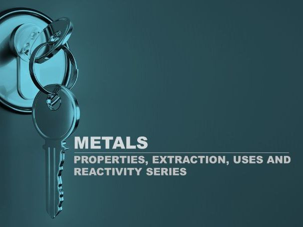 IGCSE Chemistry- Metals