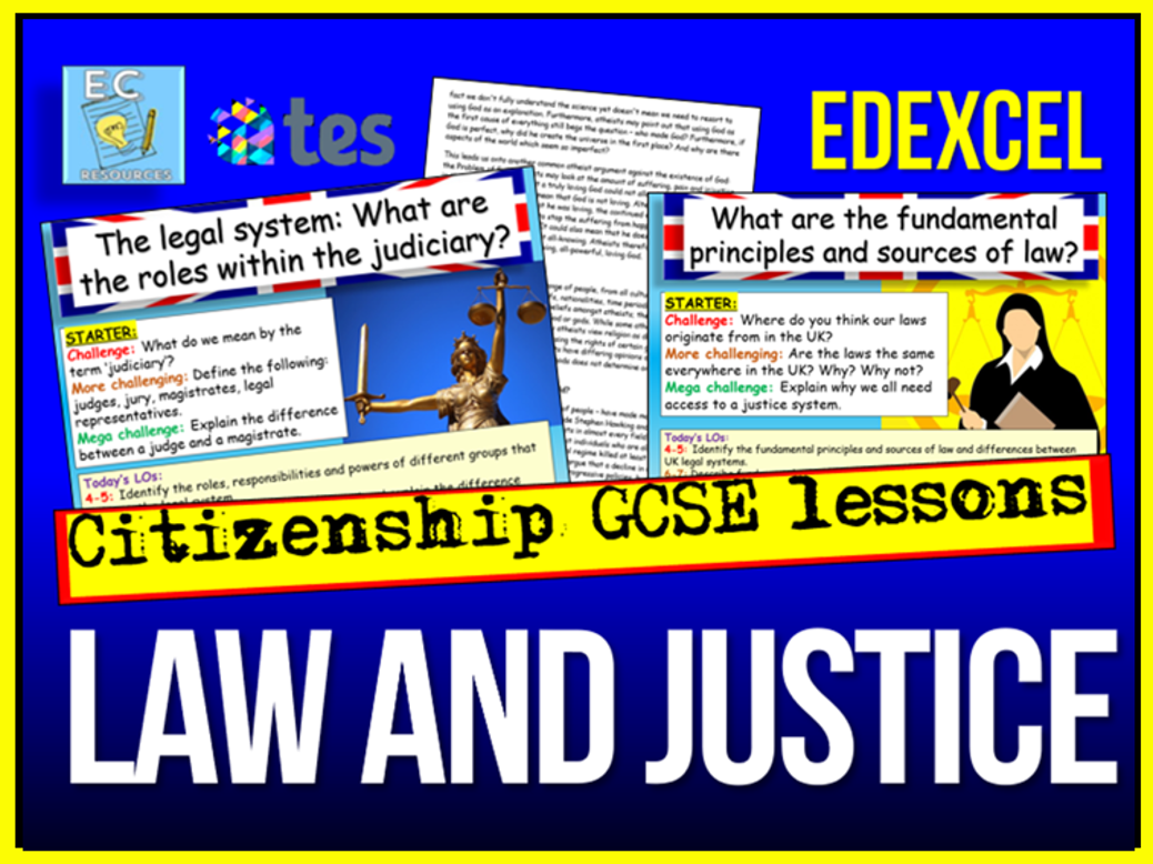 Law and Justice - Edexcel Citizenship