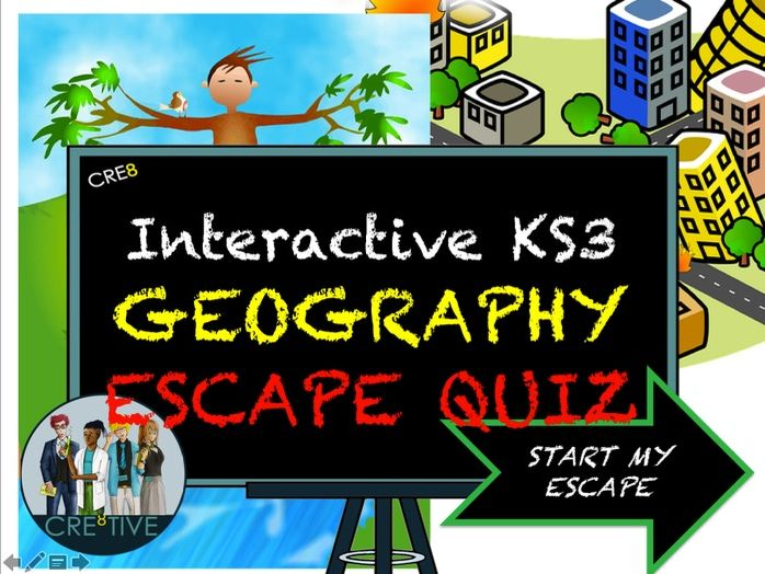 KS3 Geography Revision Escape Quiz