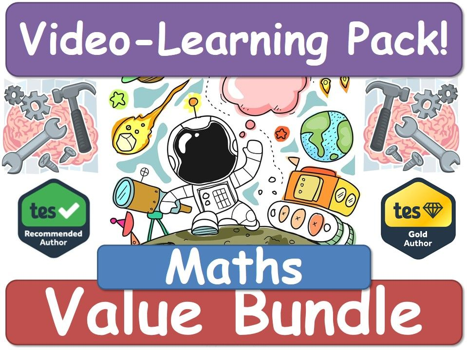 Maths! Maths! Maths! [Video Learning Pack]
