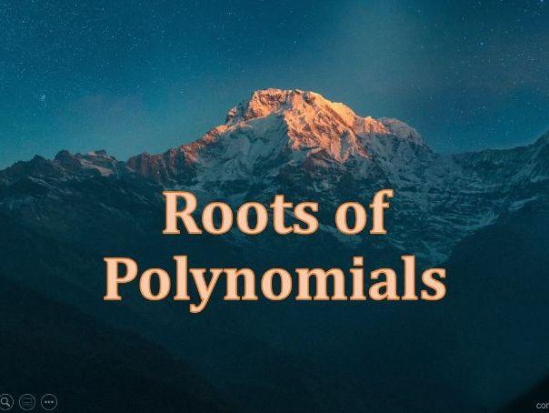 Roots of Polynomials Presentation