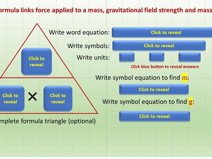 Physics Formula Randomiser 1