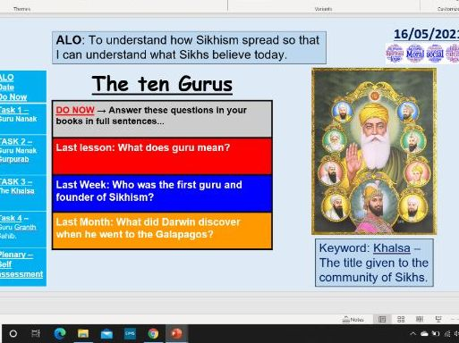 The ten Gurus