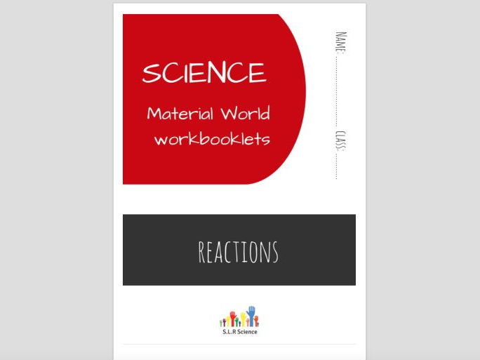 REACTIONS - science workbooklet