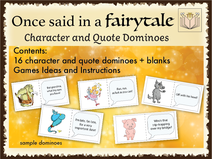 'Once said in a Fairytale' Dominoes