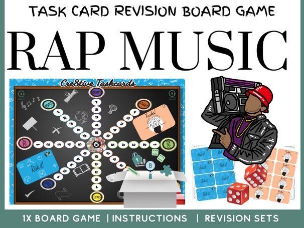 Rap Music Board Game