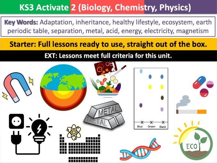 KS3 Activate 2 (Biology, Chemistry & Physics)