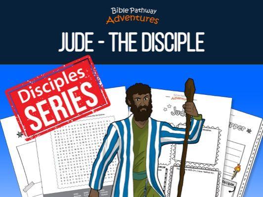 Jude: The Disciple Activity Book