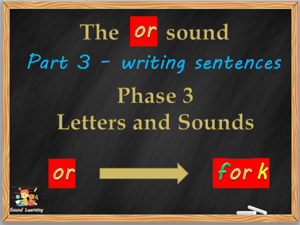 OR digraph a set of three PowerPoints