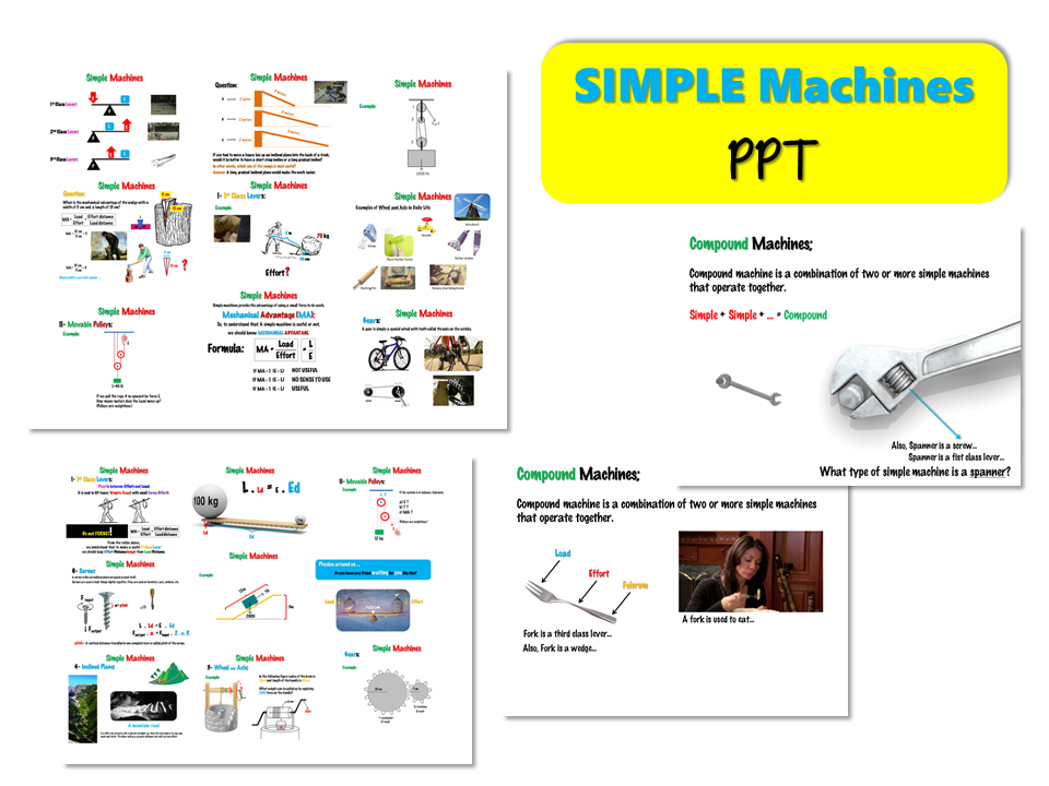 Simple MACHINES – Lesson Presentation (PPT)