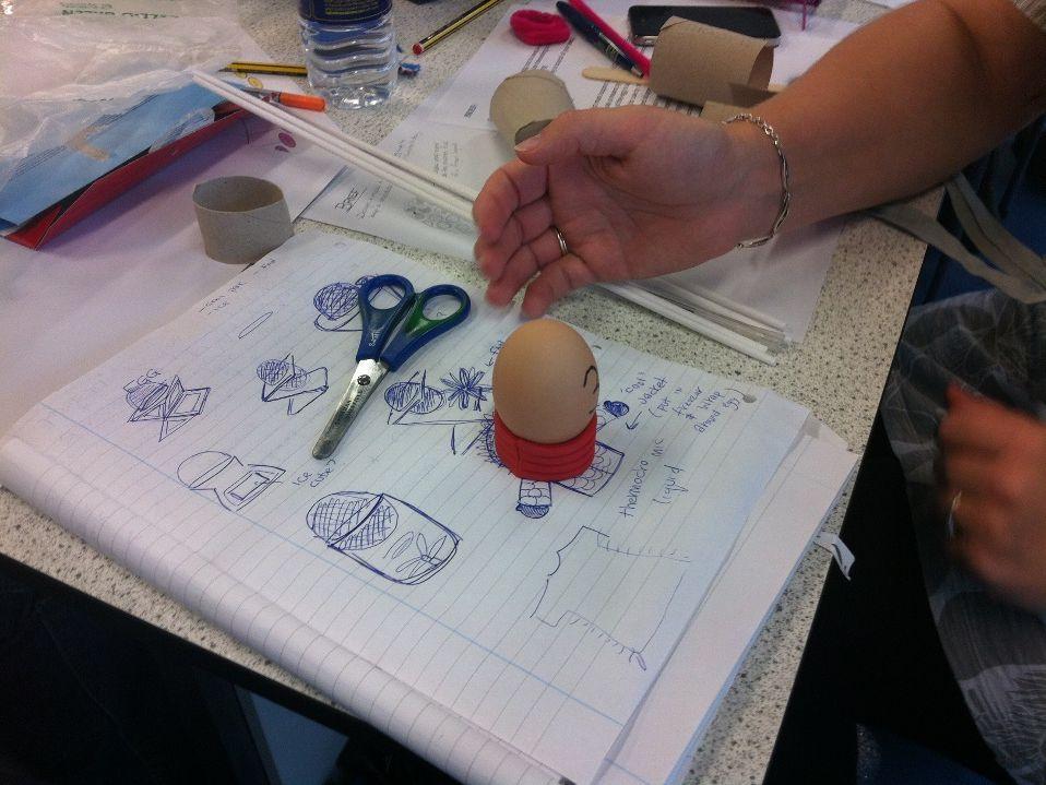 Egg Cup Design Challenge