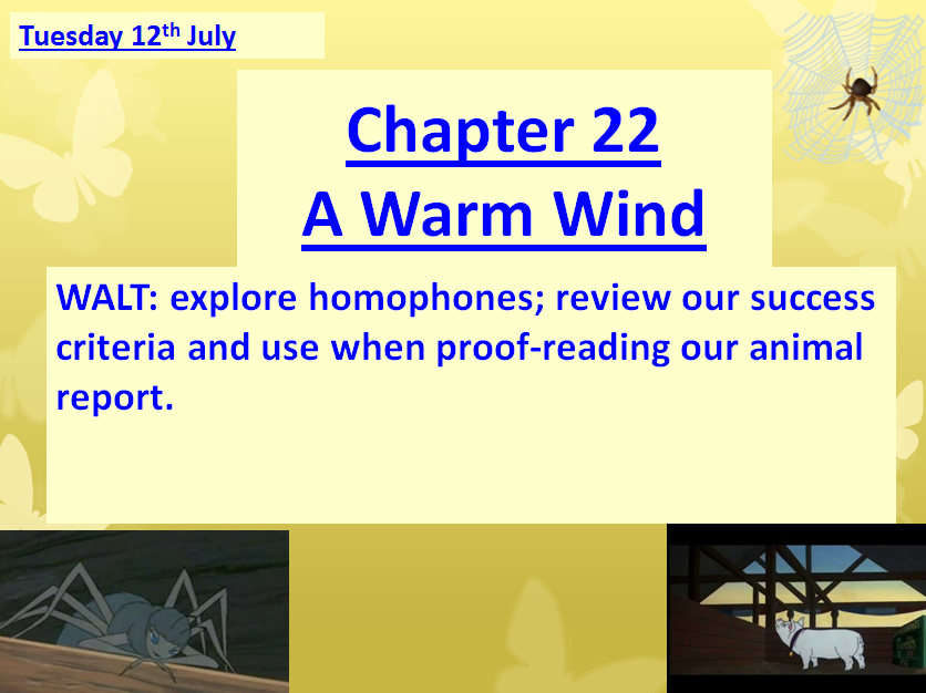 Charlotte's Web Ready-to-use lessons for Chapters 11 - 22 **NEW & UPDATED**