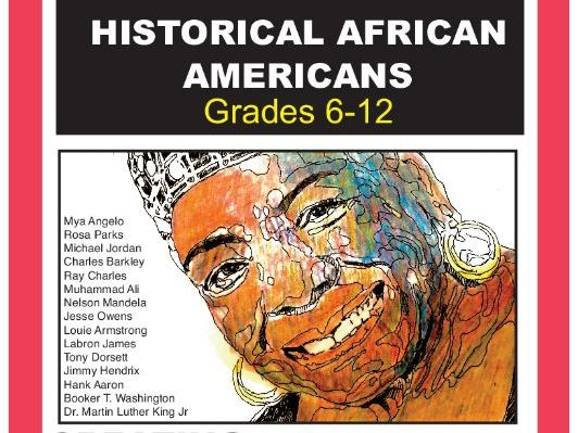 FIFTEEN FAMOUS AFRICAN AMERICANS- DRAWING SHADING LESSONS