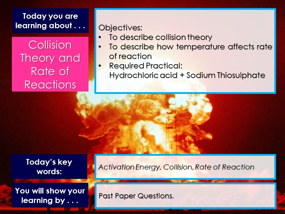 AQA Trilogy - Rates of Reaction - Topic C6