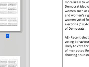 "EDEXCEL A level Politics ""Evaluate which factors play a vital role in voting behaviour"" essay plan"