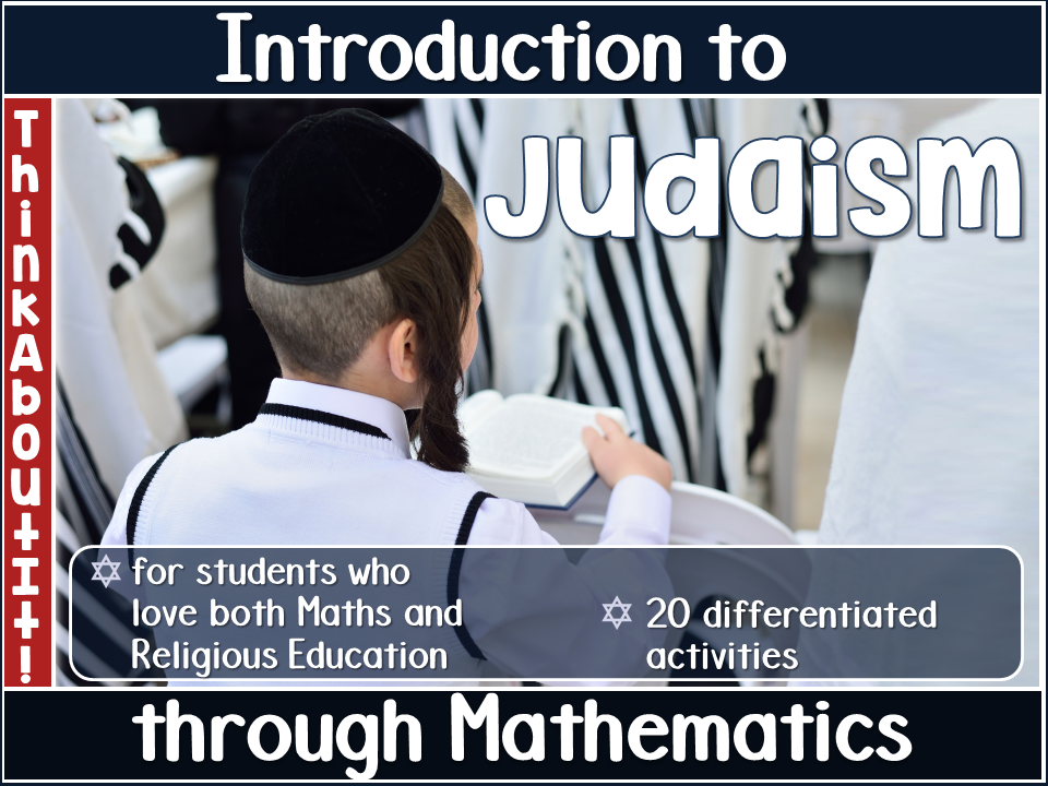 Judaism Activity Pack
