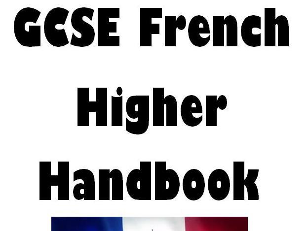 AQA GCSE French Higher handbook