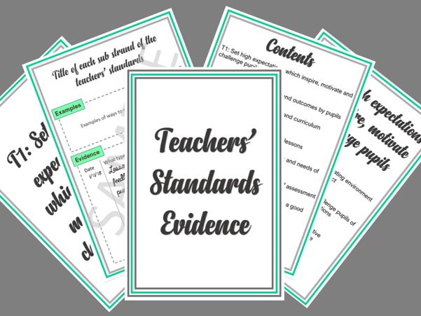 Teachers' Standard Folder