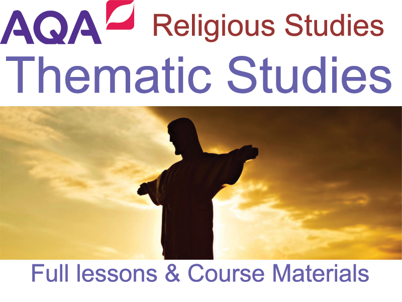 AQA GCSE Religious Studies: Theme B - Religion & Life [Over 70 Files!] Full Lessons & Resources