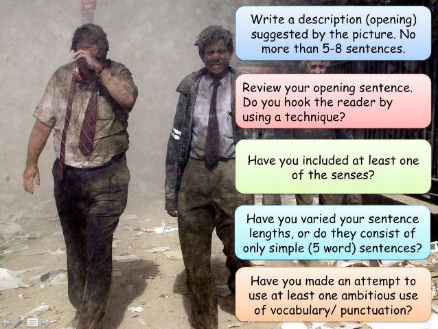 English Language Paper 1: Writing Section (Q5)