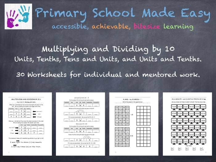 Multiplying and Dividing by 10