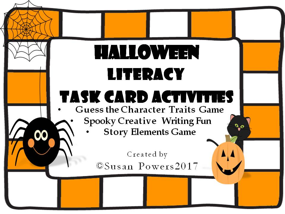 Halloween Creative Writing  Build A Spooky Story Activities