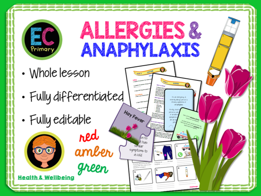 Allergies + Anaphylaxis