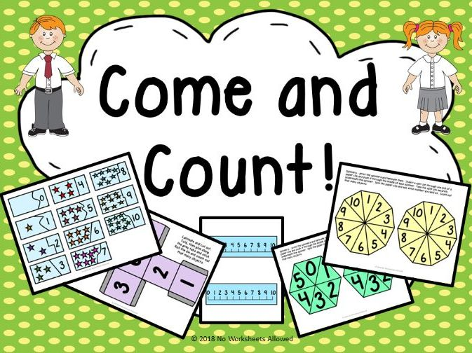 Pre-School/Reception Counting Activities and Resources Mini Unit