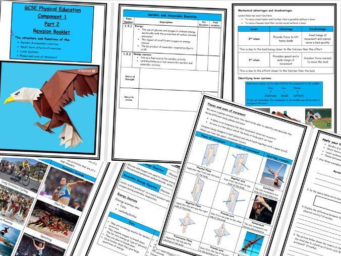 GCSE - Edexcel Component 1 - Revision Book Part 2 - Levers/Planes/Axes