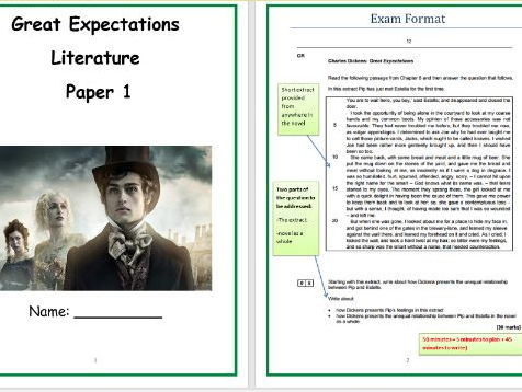 Great Expectations Revision Guide (Highly recommended by GCSE students)