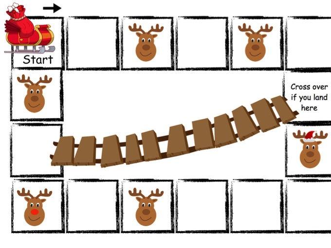 Santa's Reindeers - Christmas Board Game