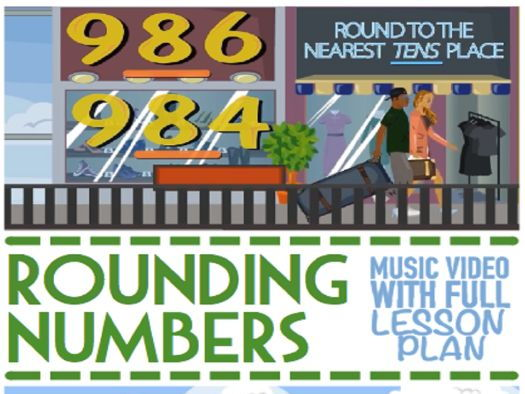 Rounding Numbers: KS2 Activity Set with Game
