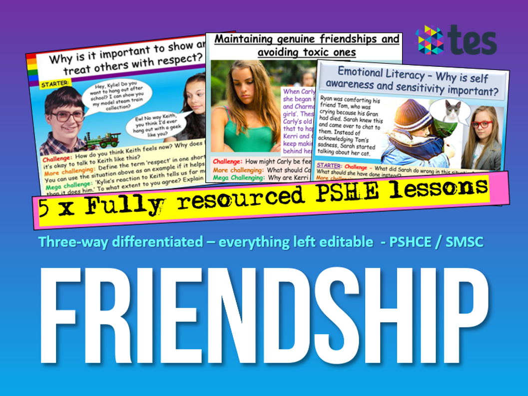 Friendship PSHE 2020